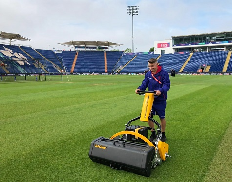 Infinicut in use at Glamorgan CCC
