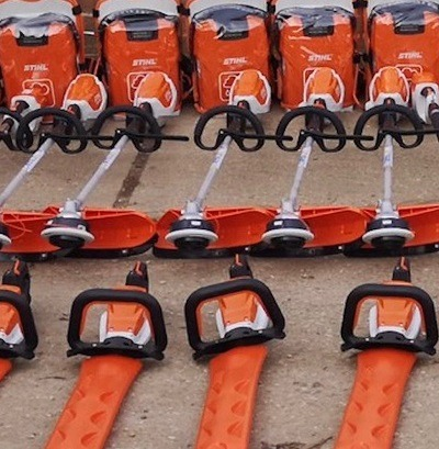 Part of RFT's new cordless fleet