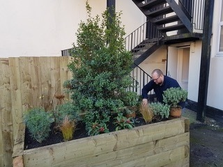 Ground Control has created a tranquil outdoor space at a newly established veterans' centre in North Shields.