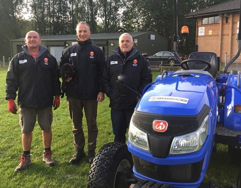 Part of the grounds team at Bolton R.U.F.C